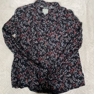 ✨Anthropologie Maeve Floral Blouse✨